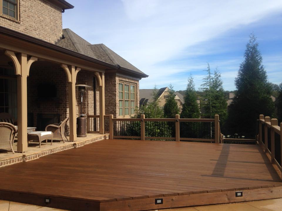 Fence and Deck Staining Header