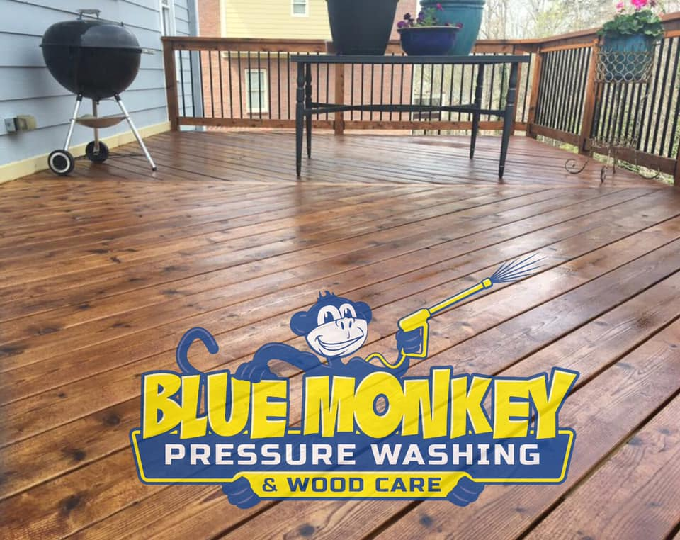 Kennesaw Deck Staining