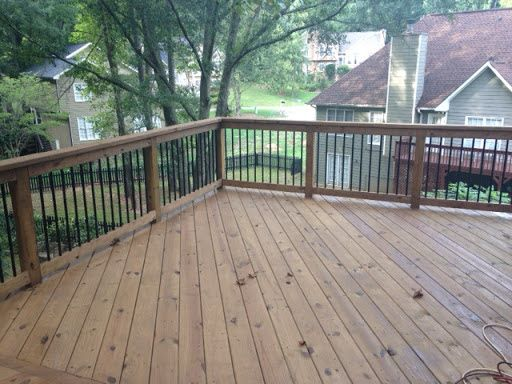 Roswell Deck Staining